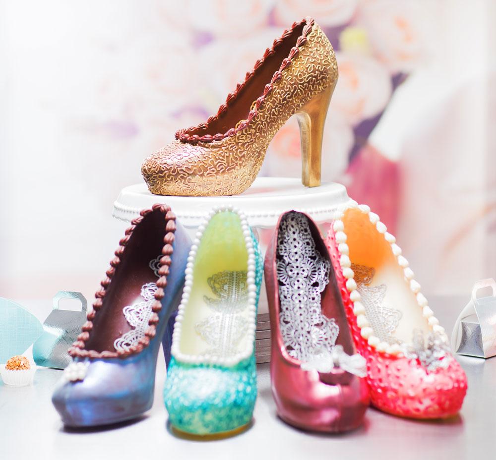 high heels schokoladen-workshop